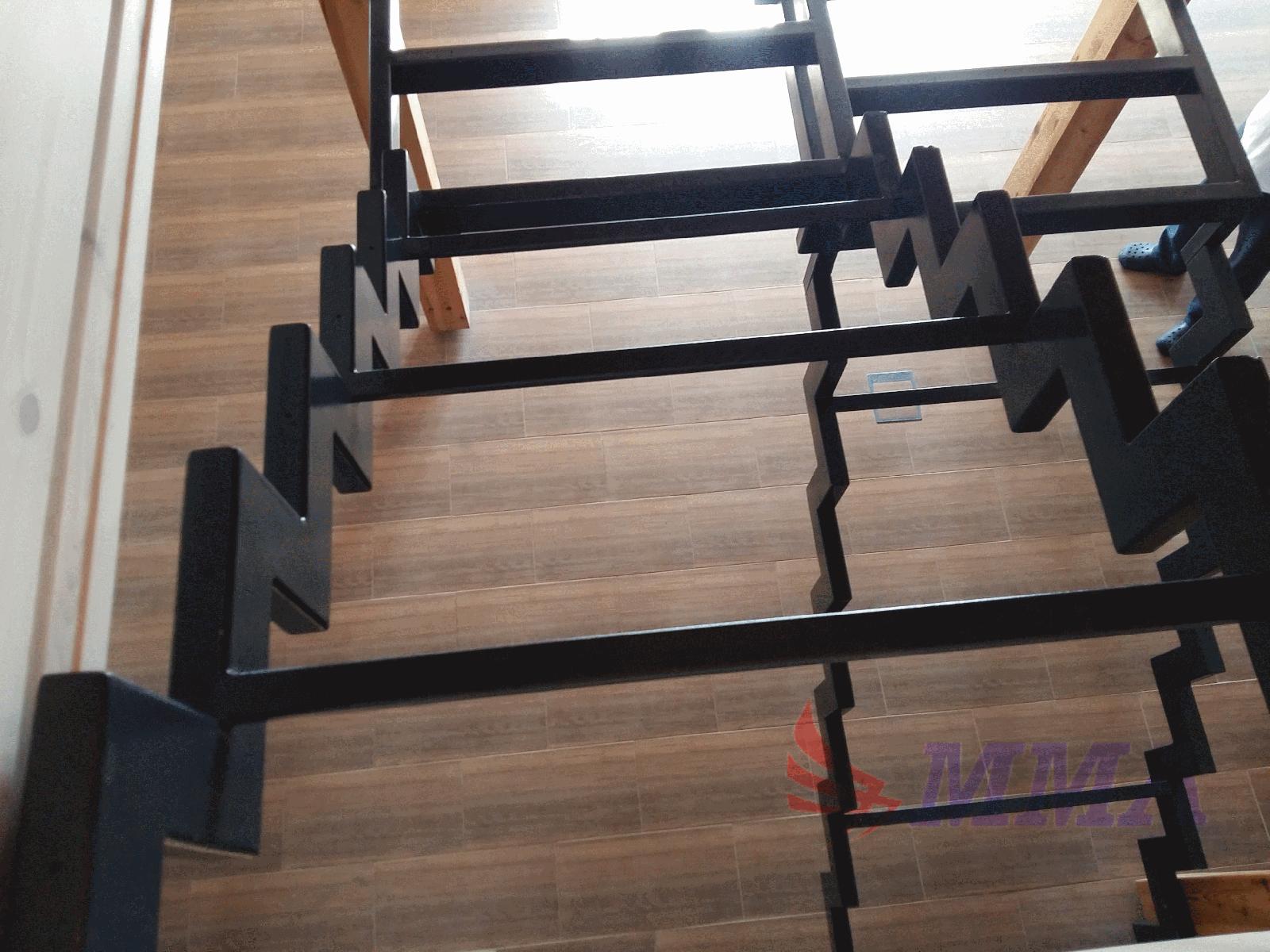 лестница, труба, металл, открытый,