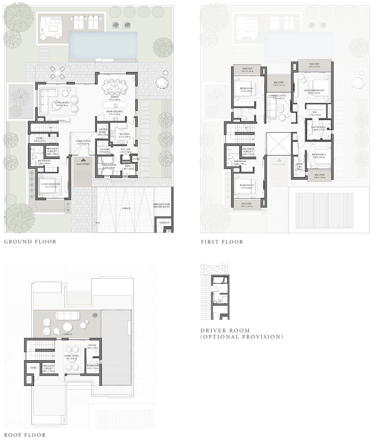 Emaar x Elie Saab Villas in Dubai Hills Estate – Villas for Sale