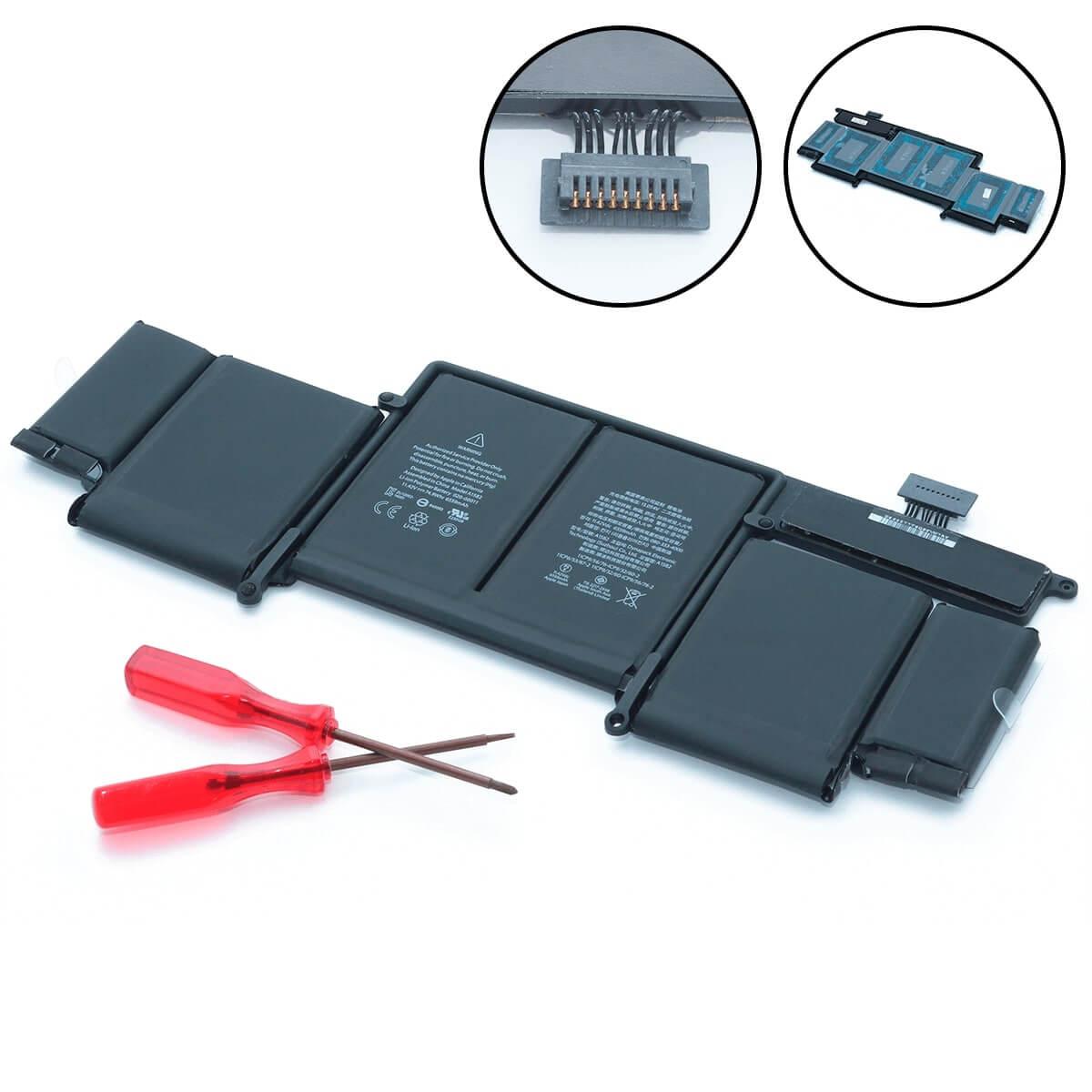 батарея для macbook pro 13 2015 a1582, батарея для a1502 2015 года
