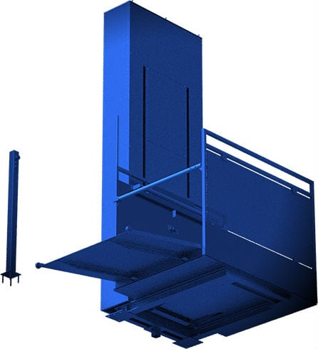 Вертикальный грузовой подъёмник