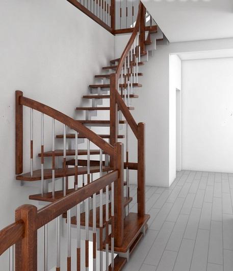 лестница, каркас, труба, белый,