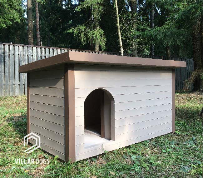 Собачья будка для немецкой овчарки