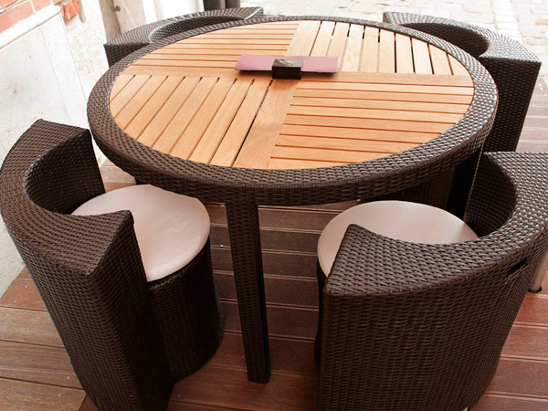 летняя мебель для кафе