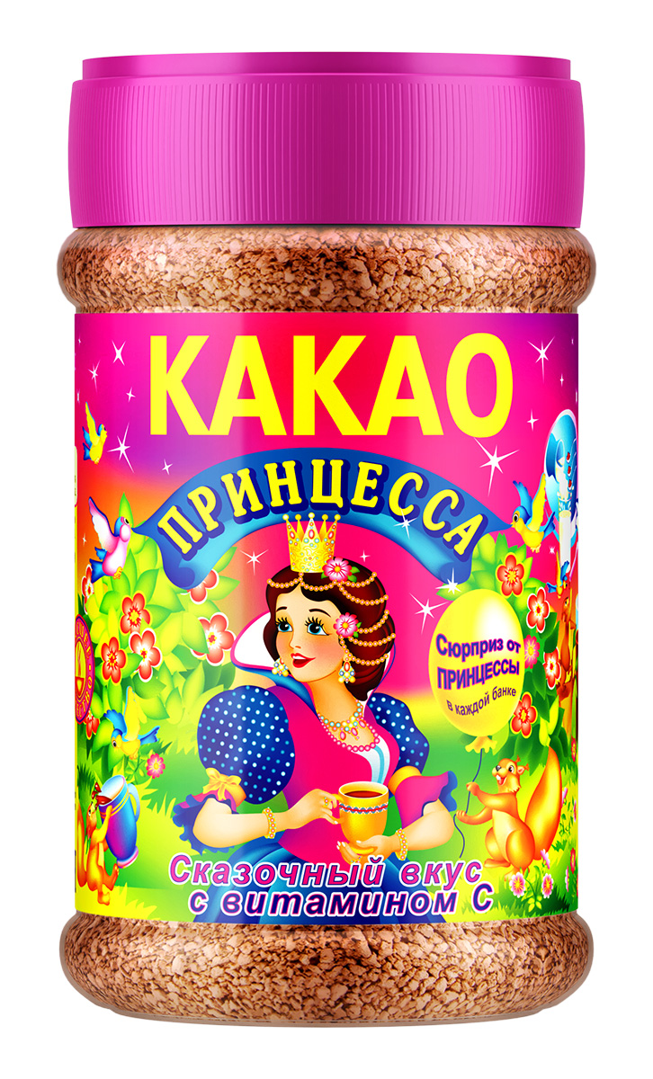Картинка Какао-напиток гранула ПРИНЦЕССА