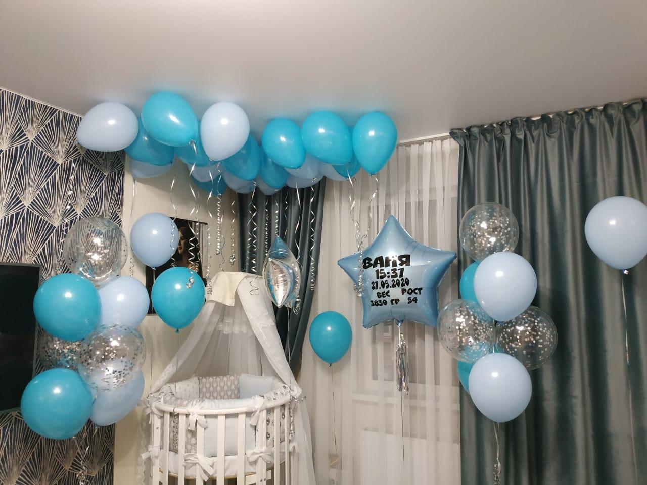 шары на день рождения 1 год
