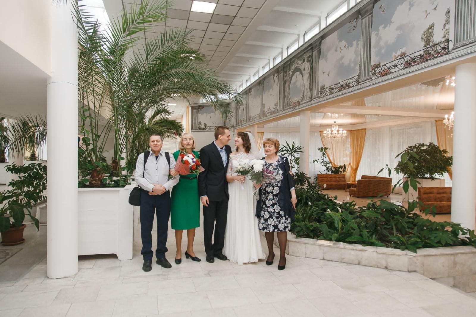 Отдел ЗАГС Выборгского района интерьер