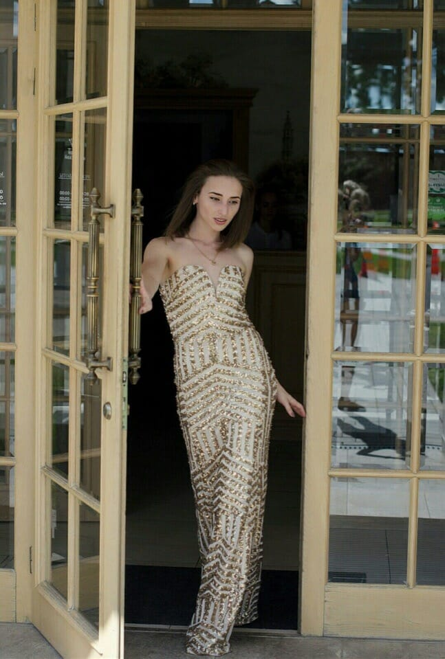 Платье Бондо