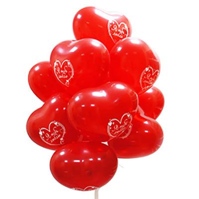 Гелиевые шарики  Сердца
