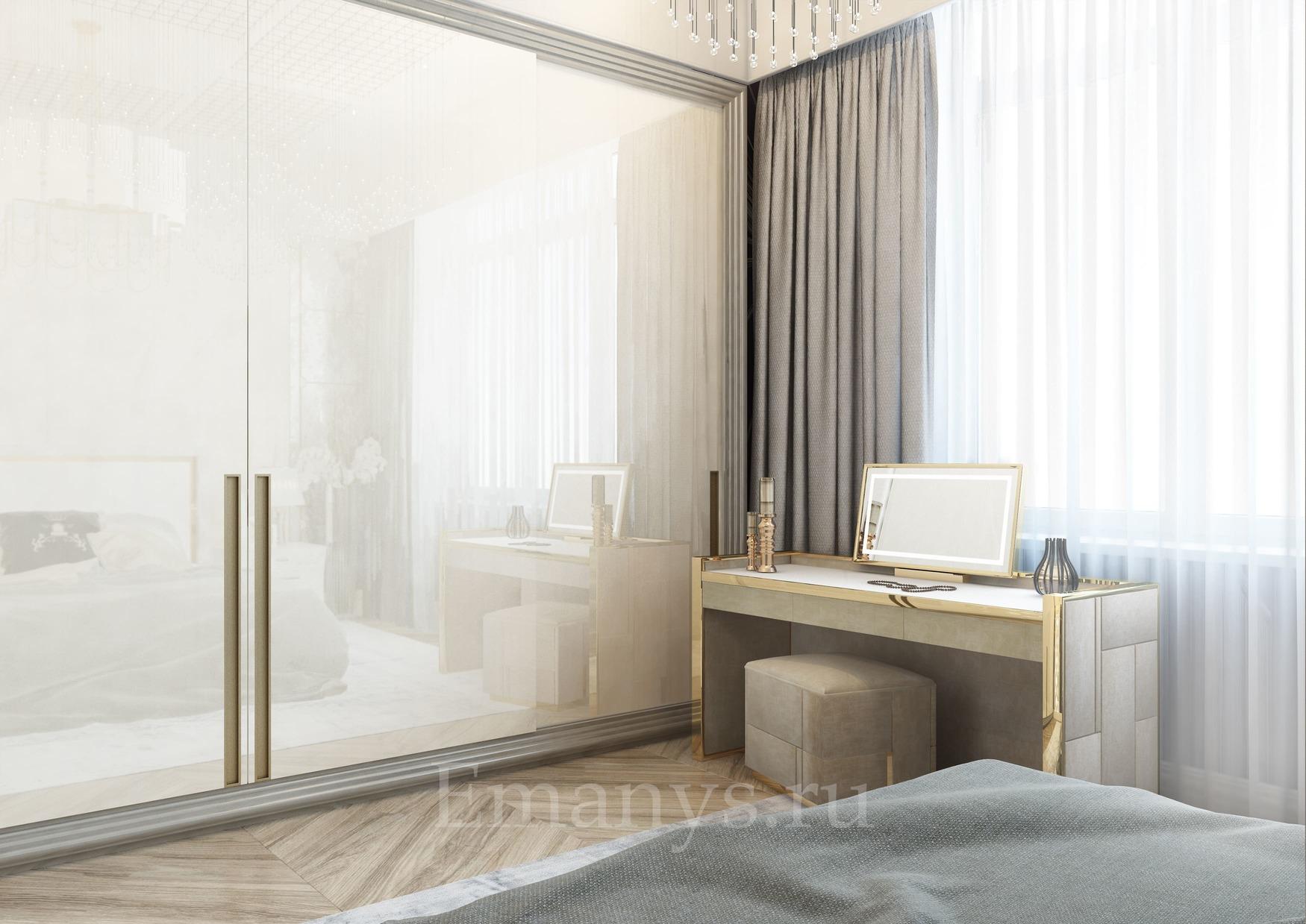 Интерьер спальня