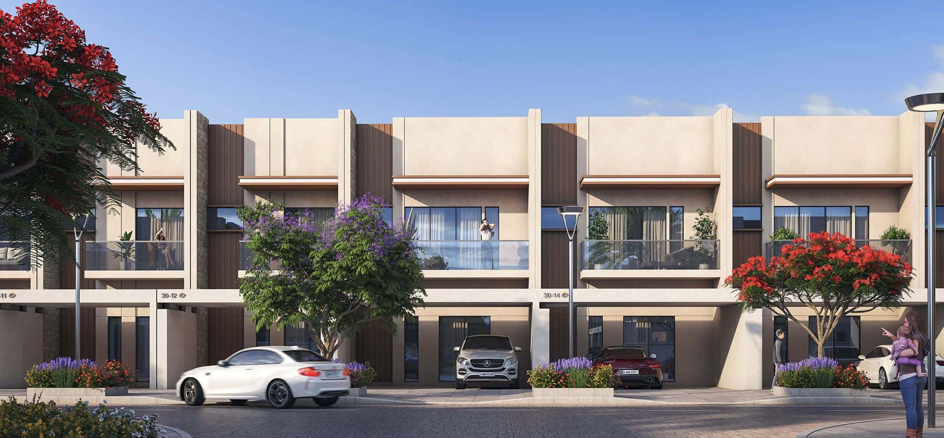 MAG City Townhouses in Dubai Meydan District