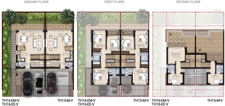 Duo Villas for Sale in DAMAC Hills 2: Prestige Villas with Ensuite Offices