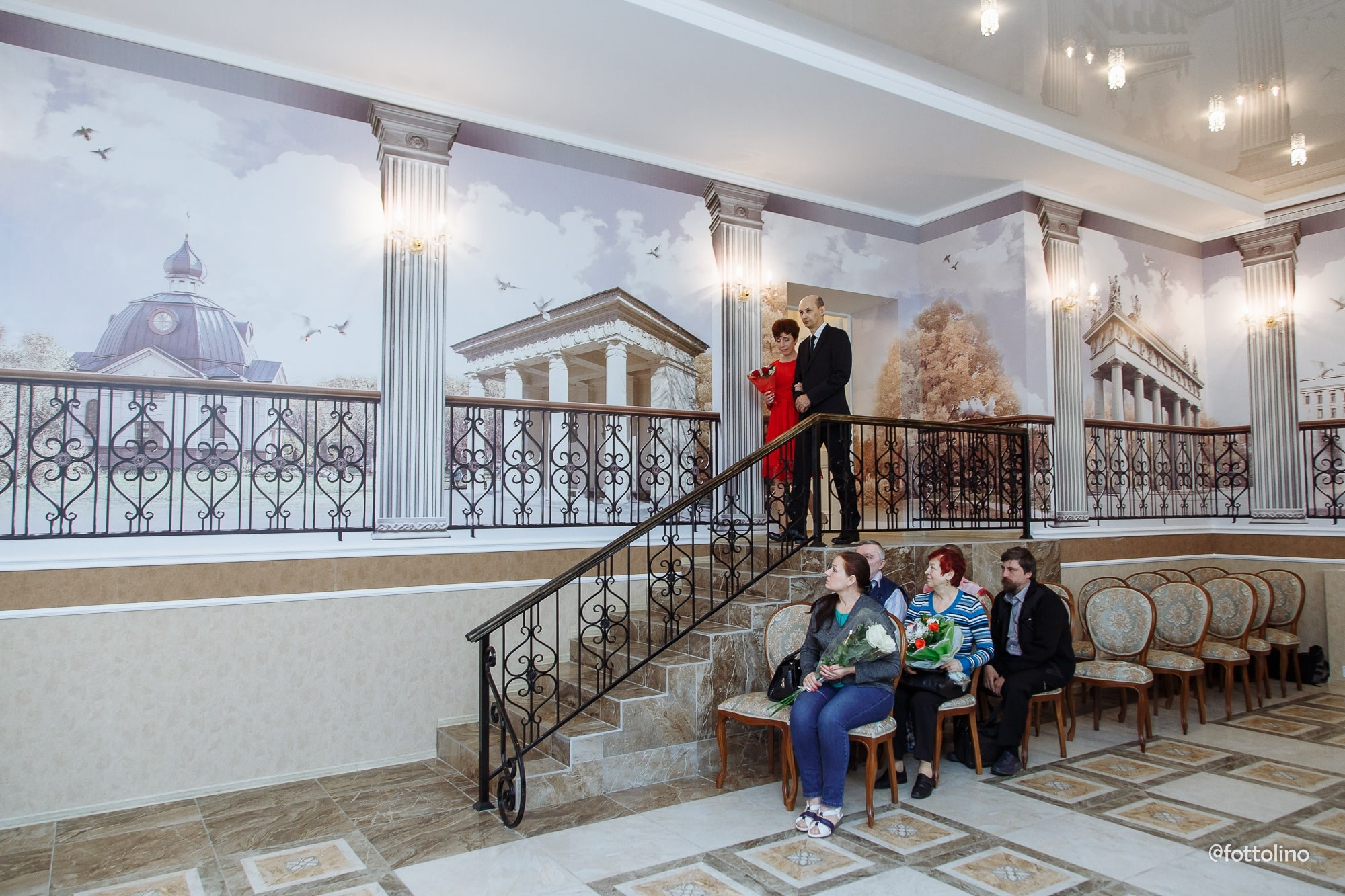 Отдел ЗАГС Московского района интерьер