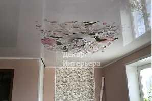 Картинка фотопечать натяжных потолках Красногорск от 199 руб/м2