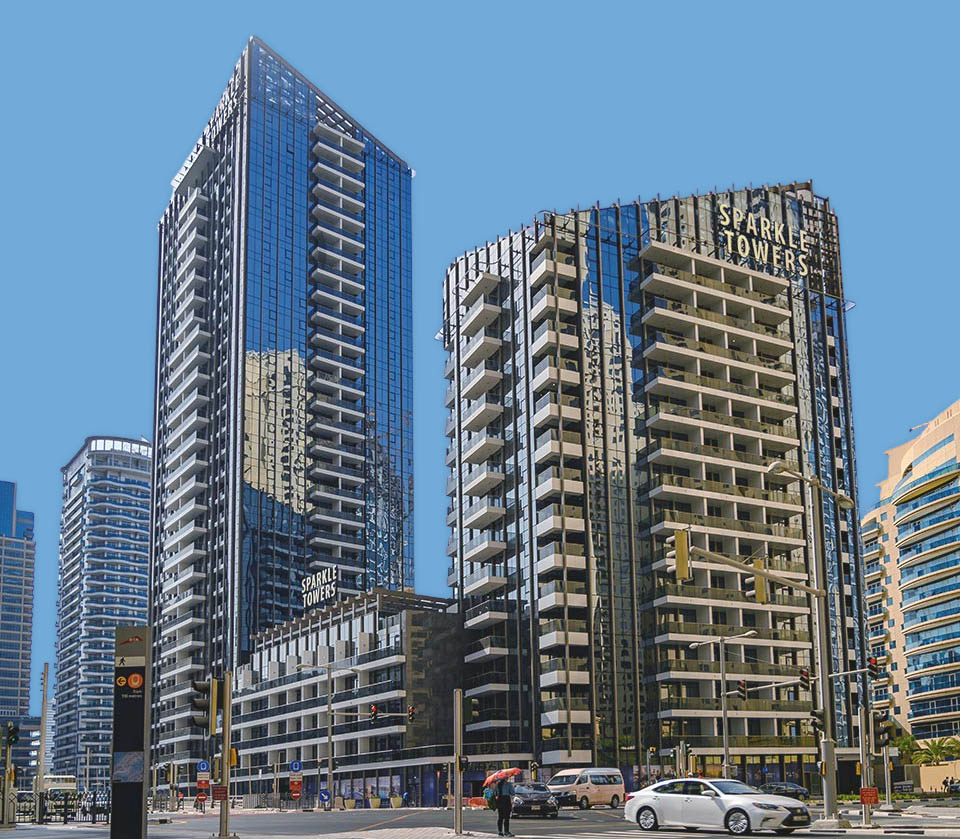 Apartments for Sale in Tebyan Sparkle Towers, Dubai Marina