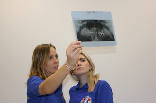 X-ray in dental clinic