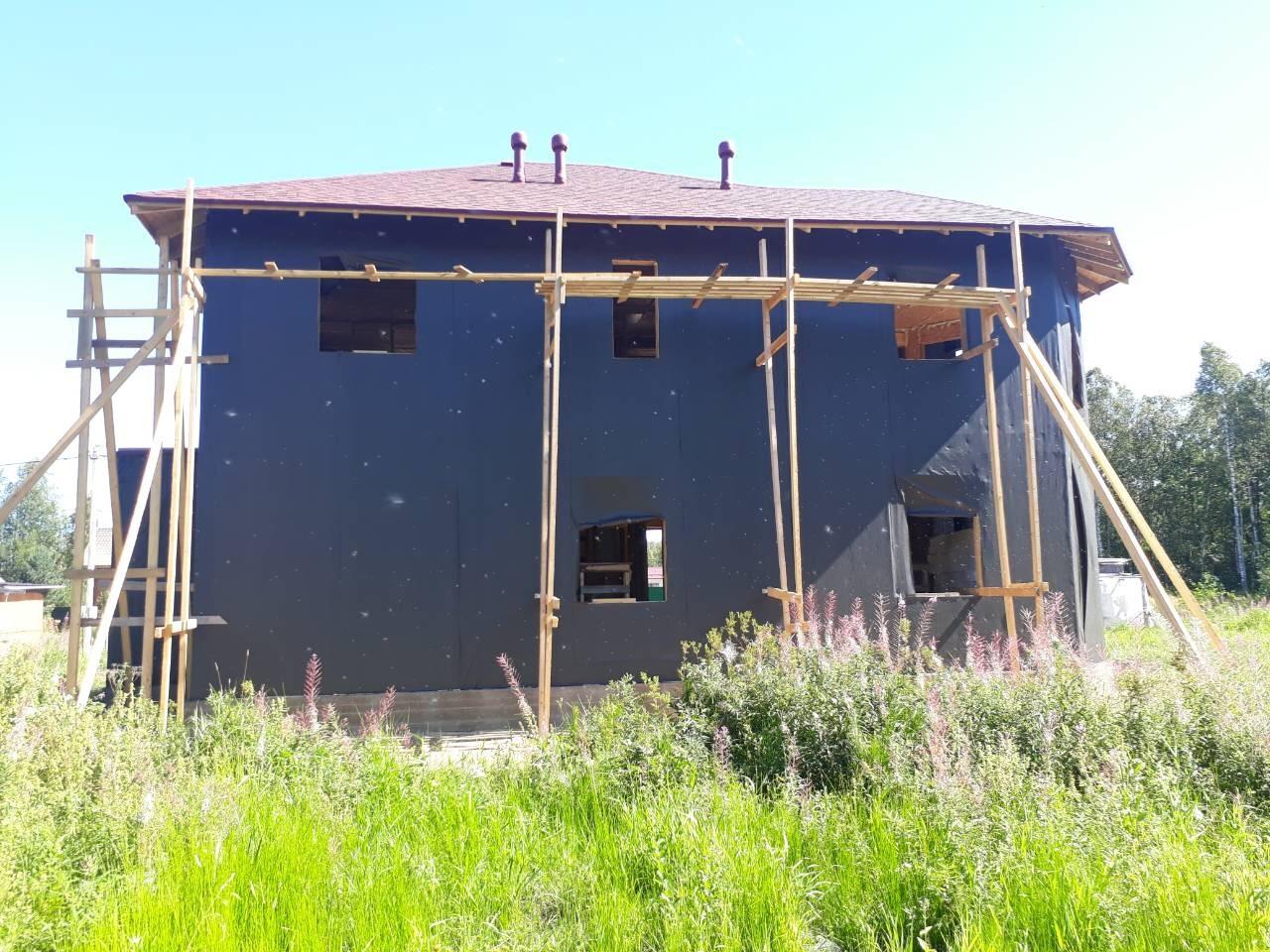 фото дома из сип панелей №4 коккорево