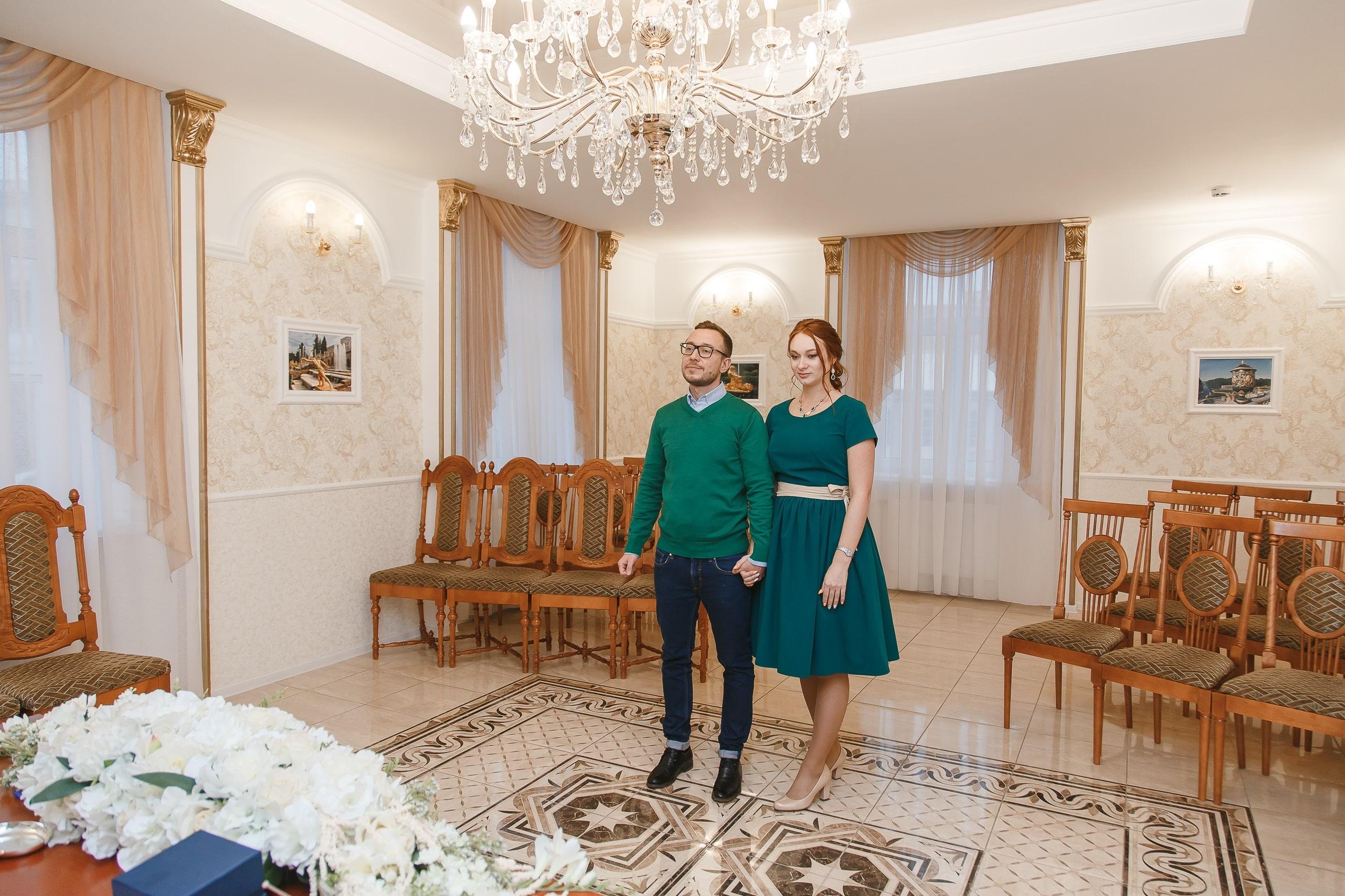 Дворец Бракосочетания №4 (г. Петергоф) интерьер