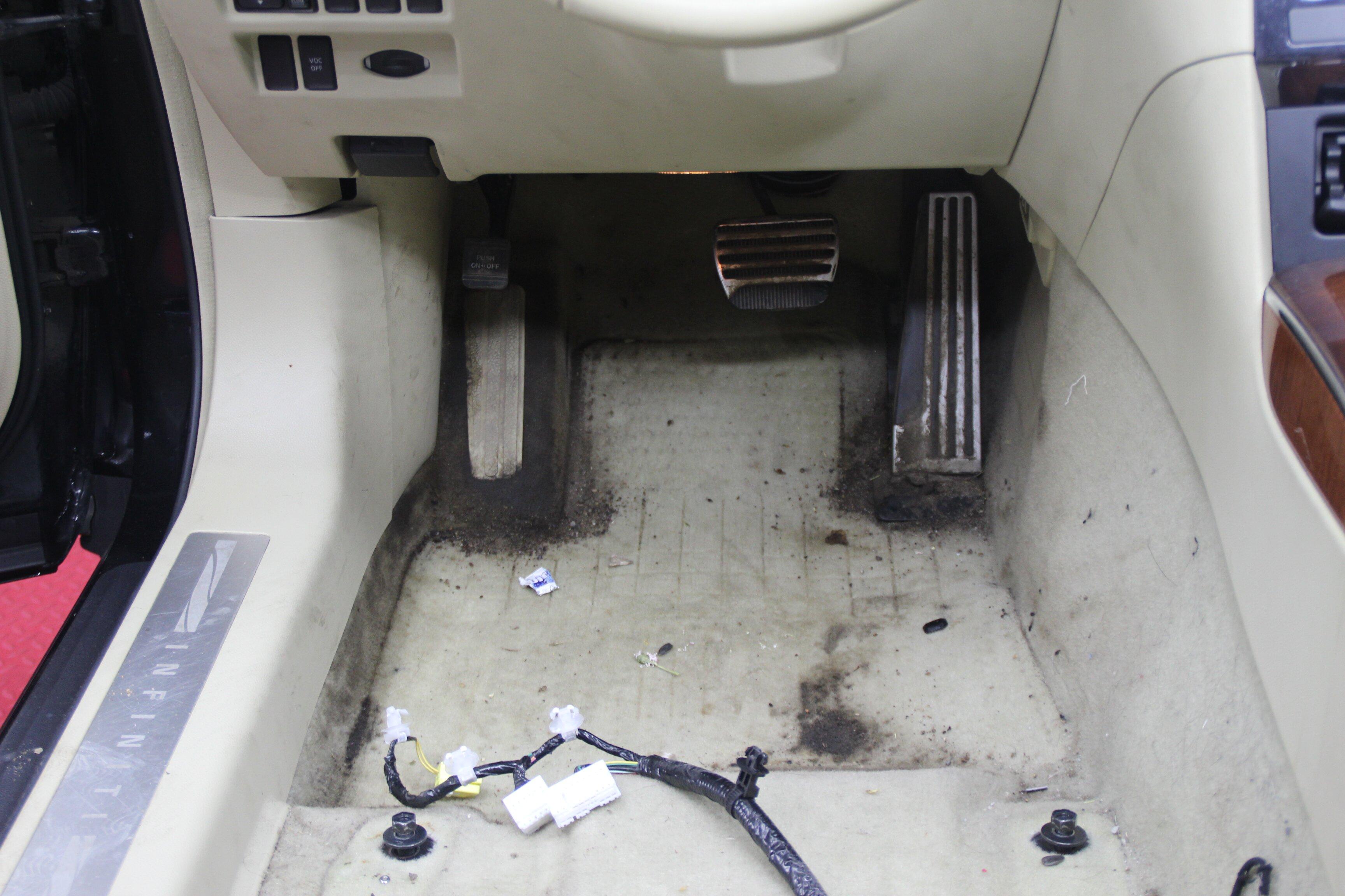 Химчистка автомобиля до