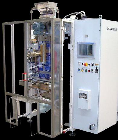 Вертикальный пошаговый фасовочный автомат