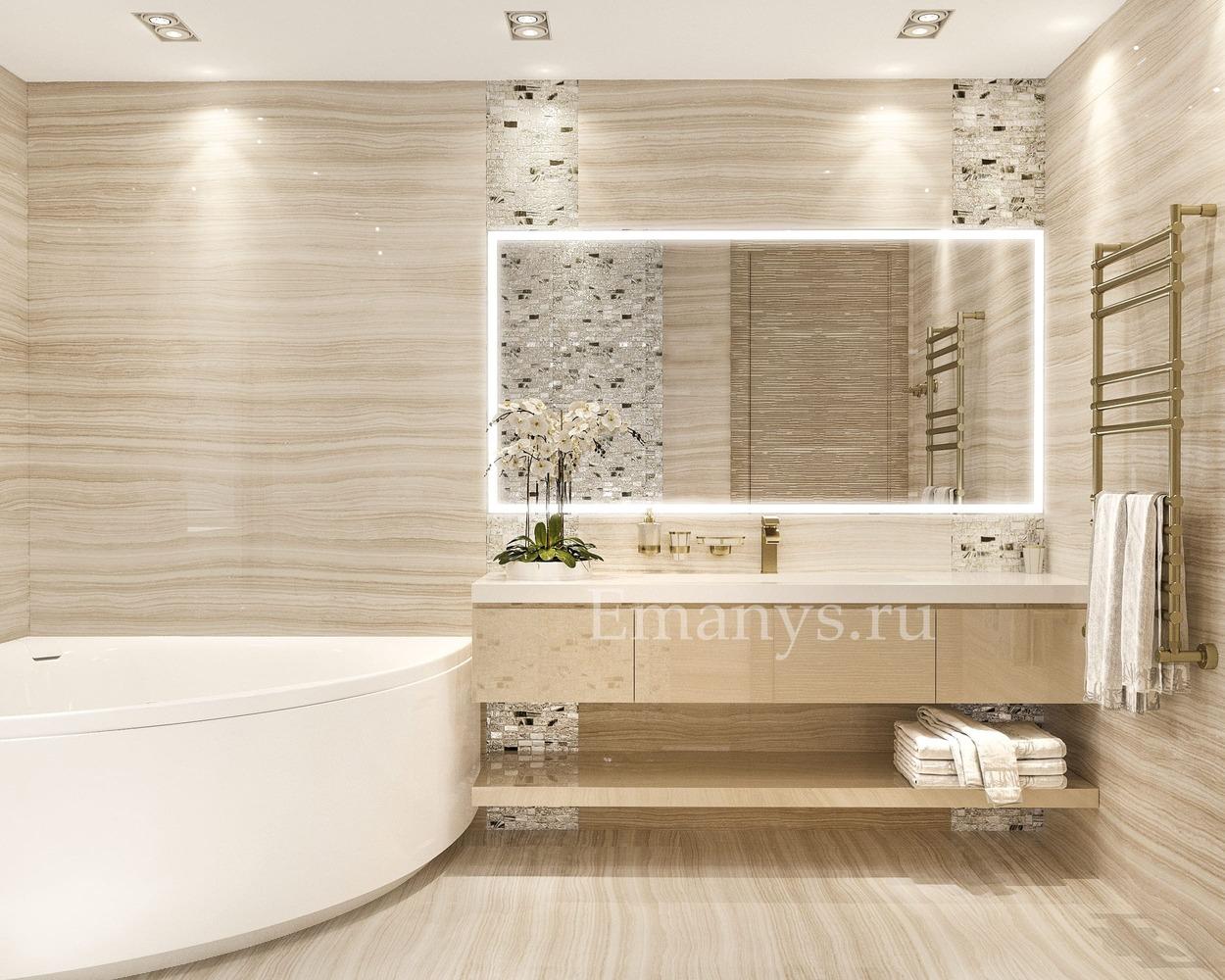 Дизайн интерьера ванная
