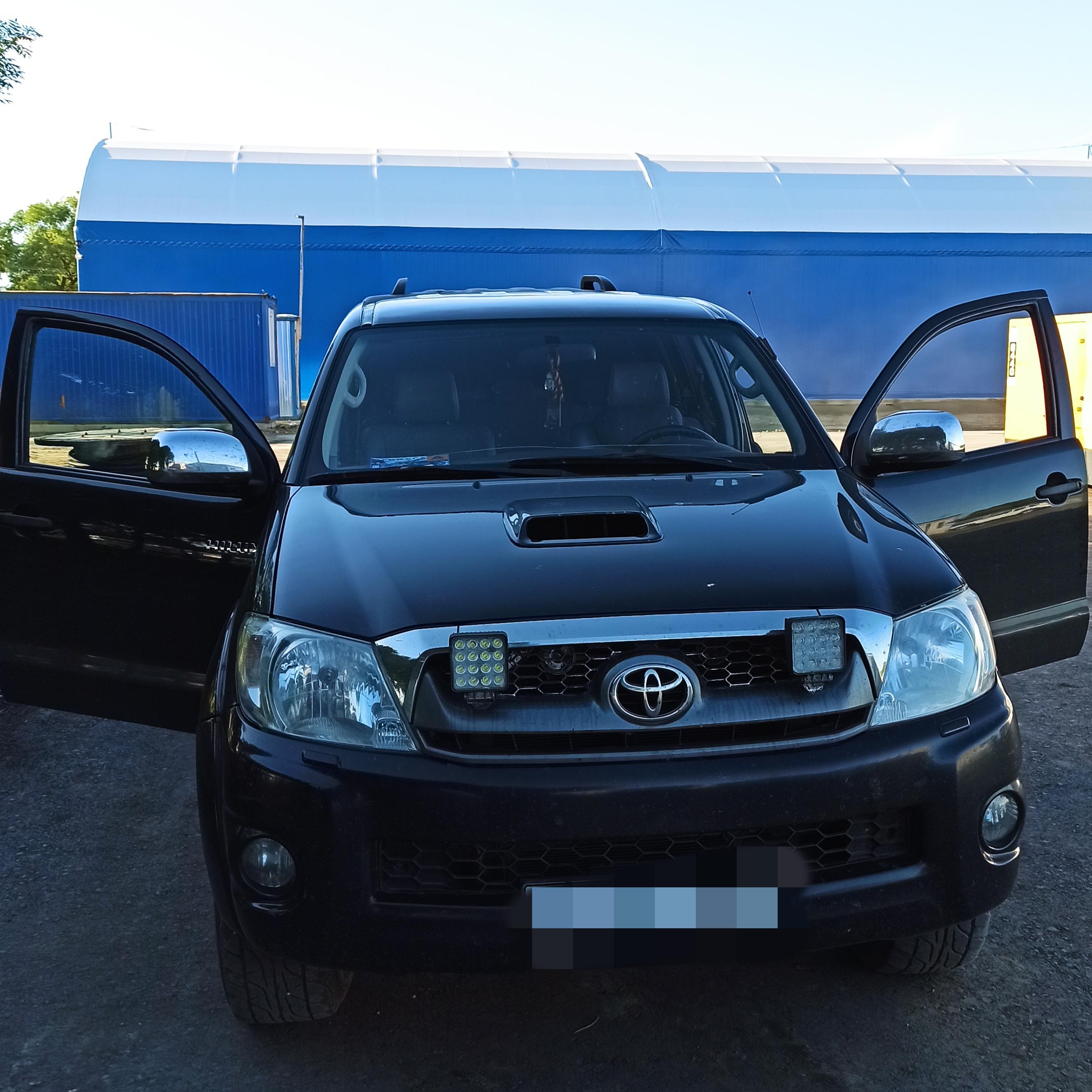 ГЛОНАСС на Toyota Hilux