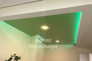 Картинка парящего натяжного потолка в Вашем городе по низкой цене от 550 руб м2