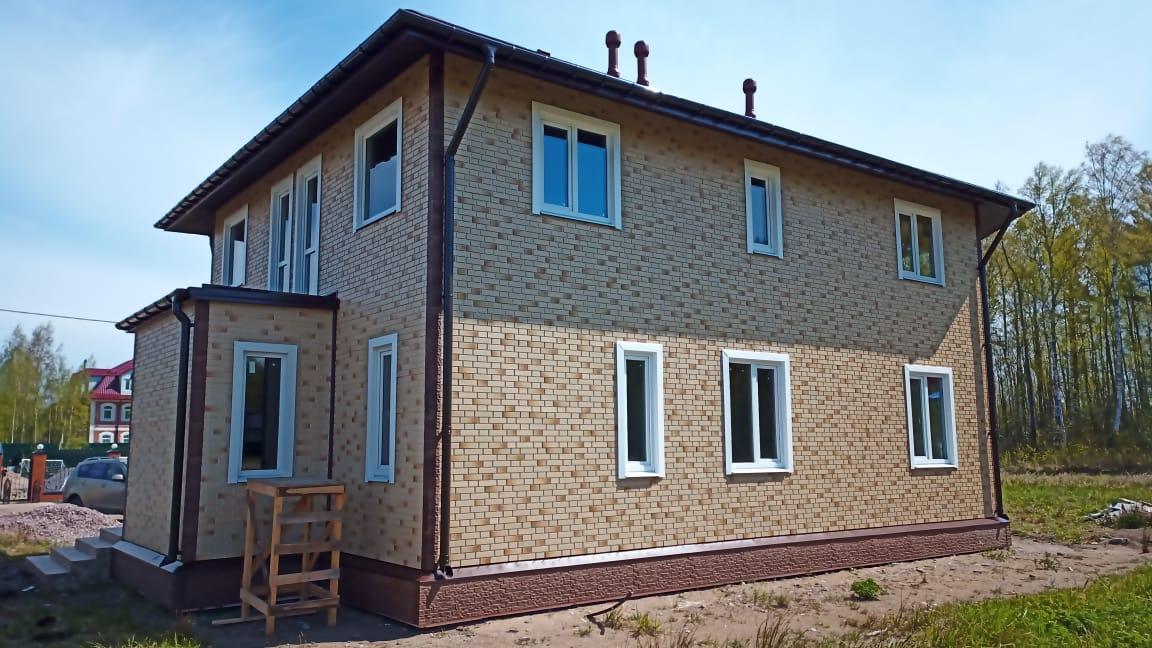 фото дома из сип панелей №11 коккорево