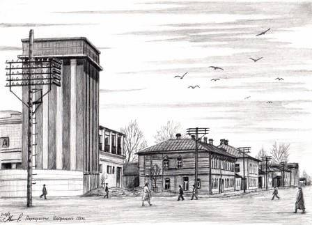 Центральный 1934г. Кинотеатр ещё не открыт
