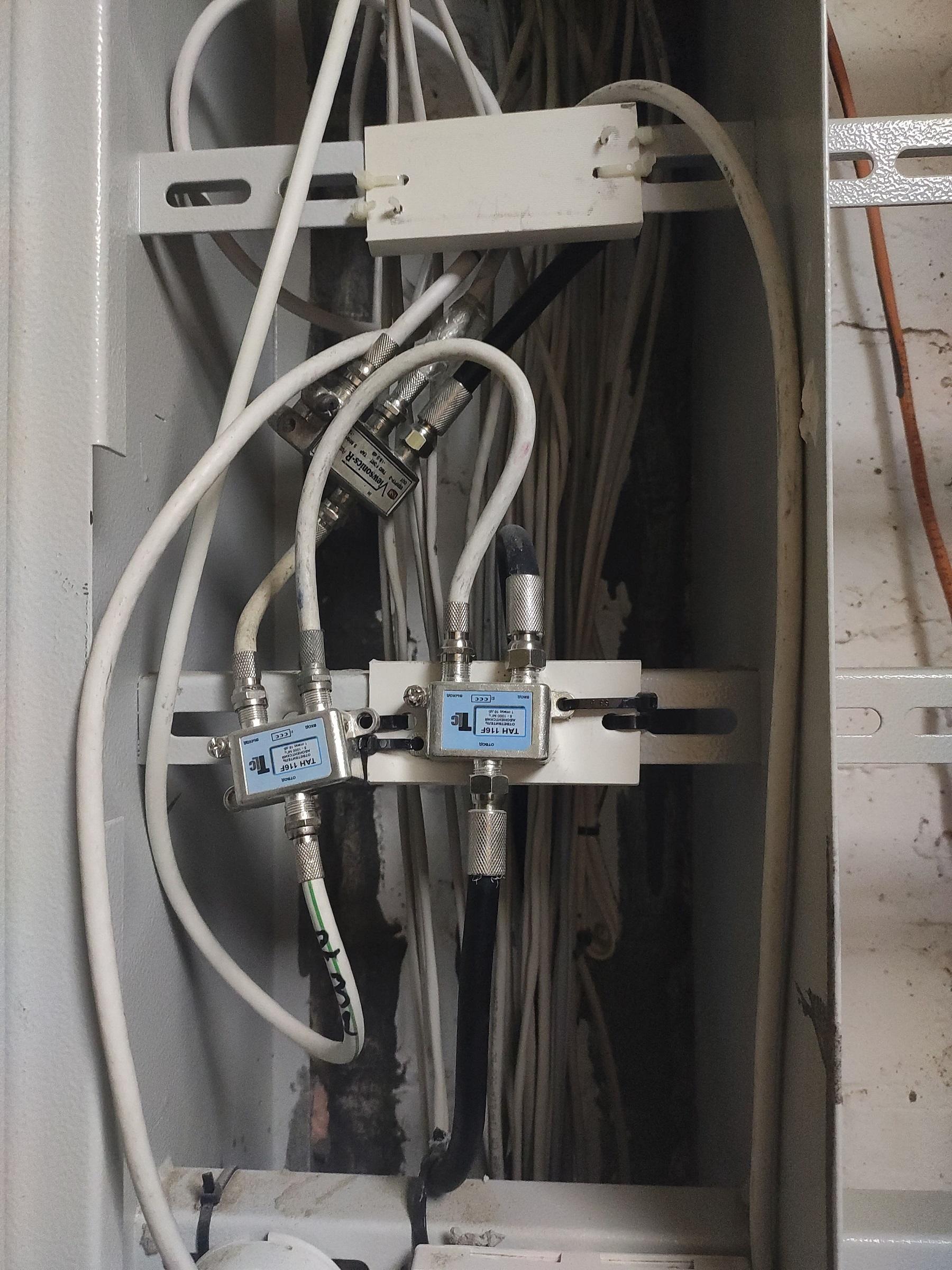 прокладка телевизионного кабеля