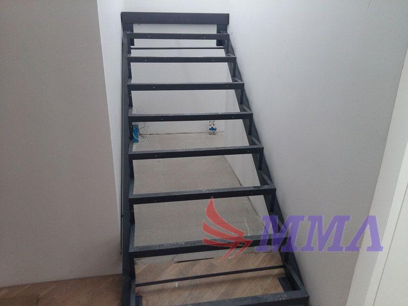 лестница, металл, швеллер, уголок, ступень,