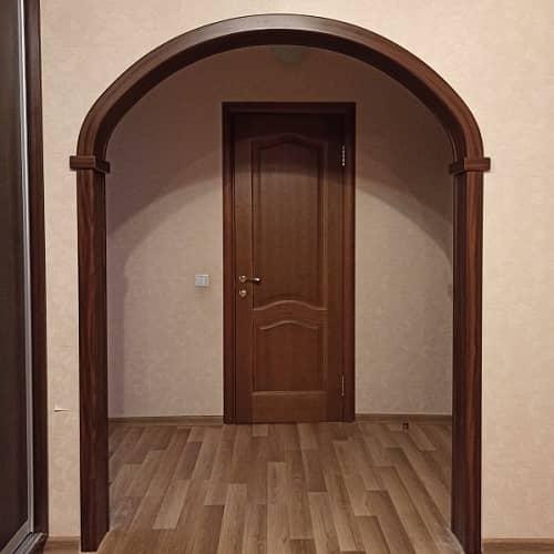Эллипсная межкомнатная арка