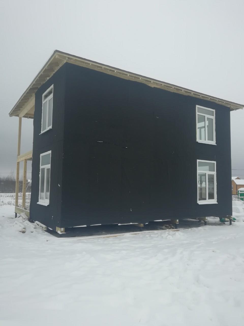 фото дома из сип панелей №1 прилесный