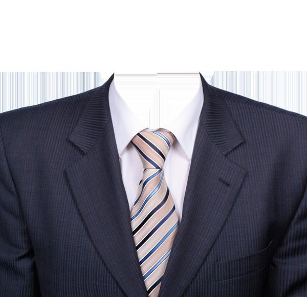 полосатый галстук фотография на документы