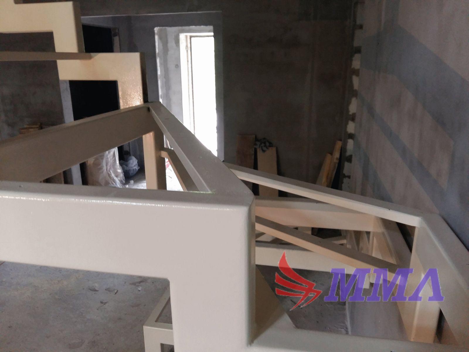 открытый тип, лестница, металлокаркас, каркас,