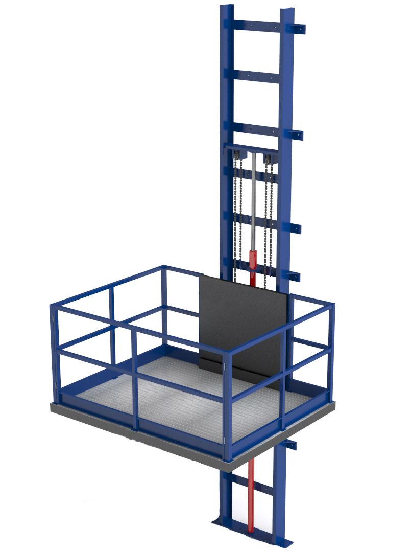 Грузовой платформенный подъёмник