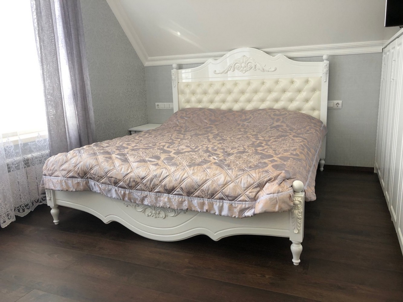 Кровать на заказ от Мебель-эль.рф