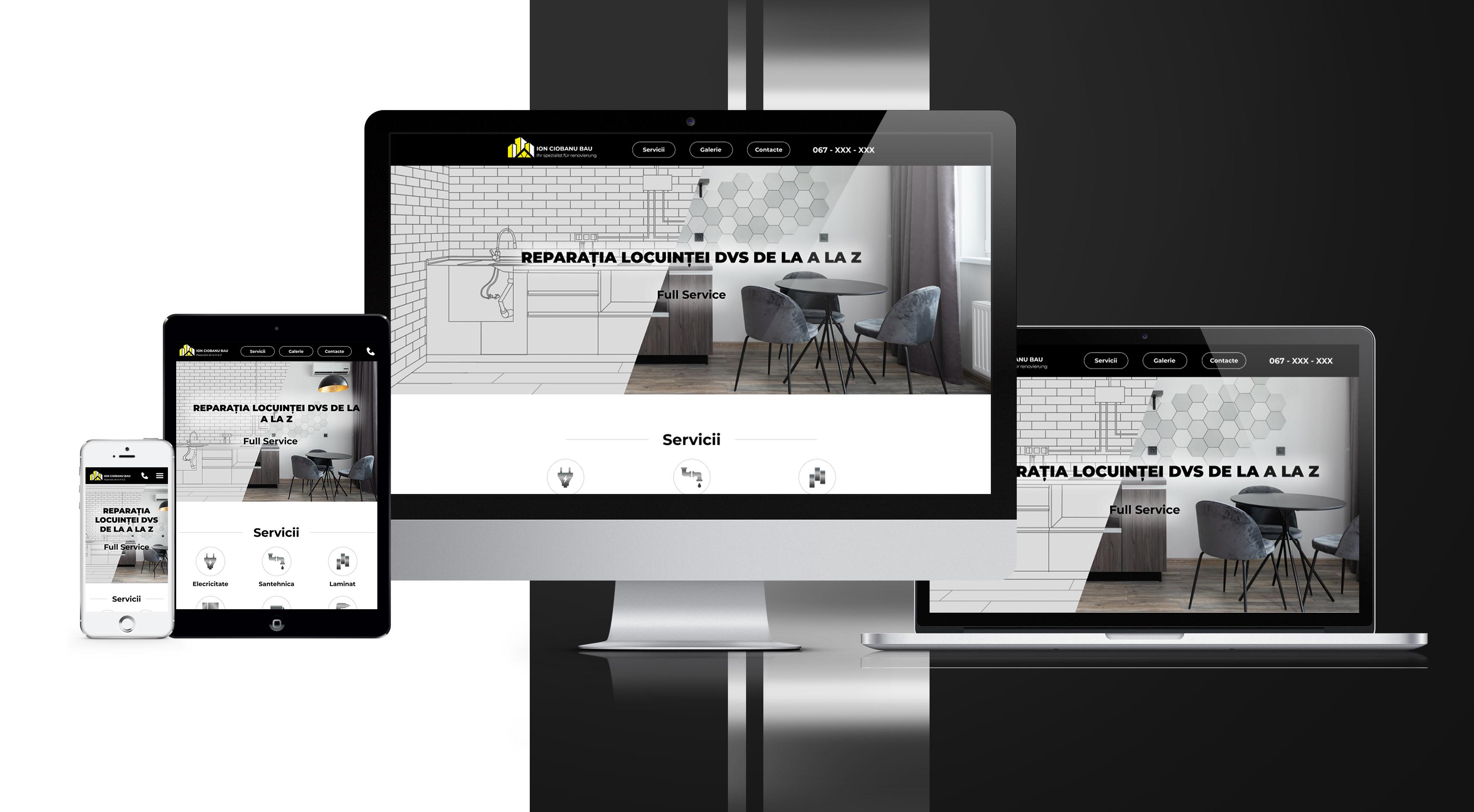 IT System prezentare site