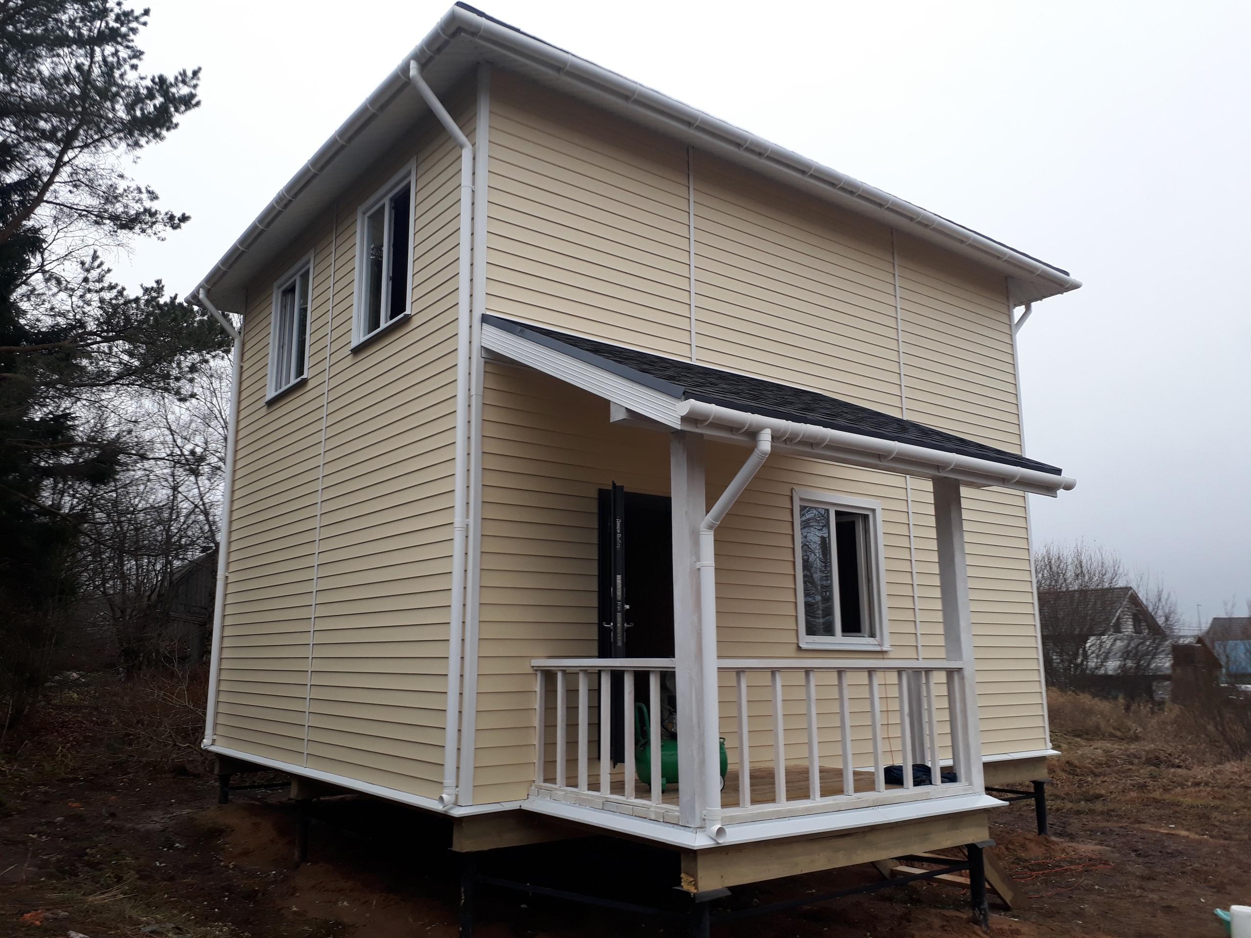 фото дома из сип панелей №2 дранишники