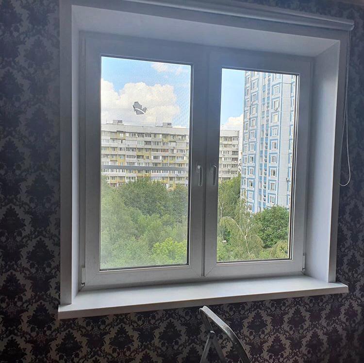 окно 2 створки