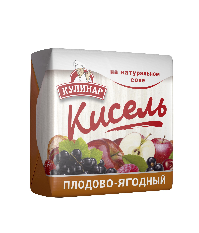 Картинка Кисель КУЛИНАР плодово-ягодный