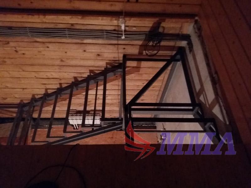 каркас, металлокаркас, лестница, швеллер, уголок,