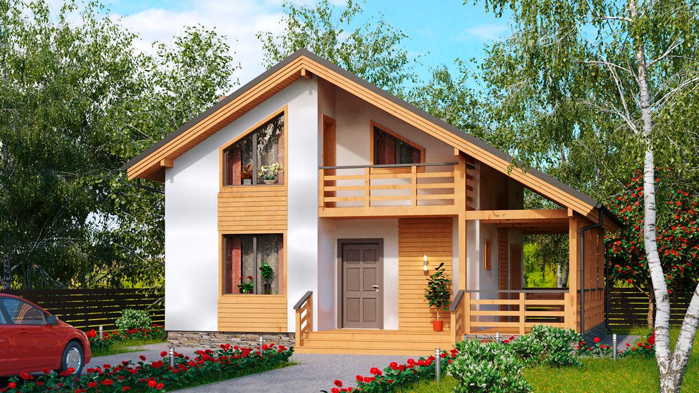 Koln 1.1 Rahmenhaus (Каркасный дом Кельн 1.1) 2