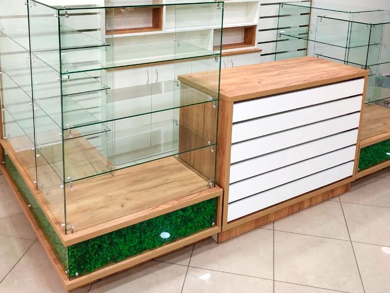 торговая мебель для отдела эко продуктов