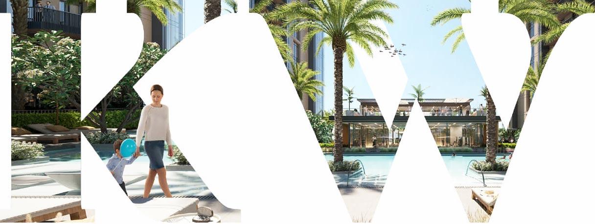 إلينغتون كيه دبليو (كينسينجتون ووترز) - شقق للبيع في ميدان مدينة محمد بن راشد ، دبي