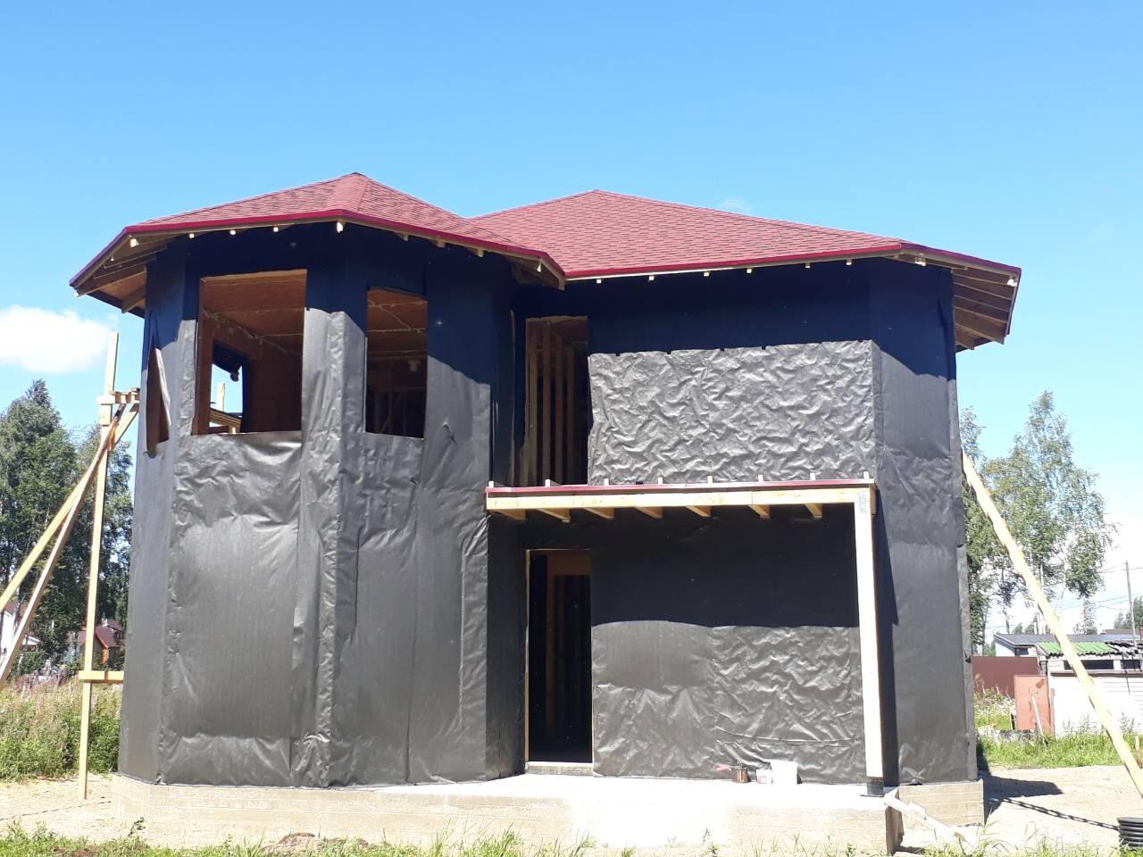 фото дома из сип панелей №5 коккорево
