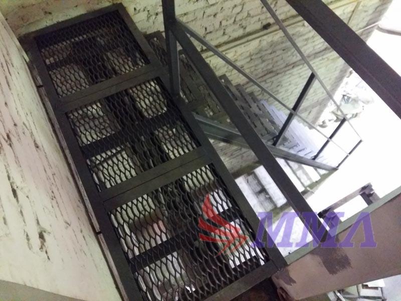 лестница, каркас, склад, металл
