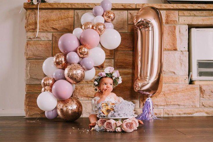 детская фотозона из шаров