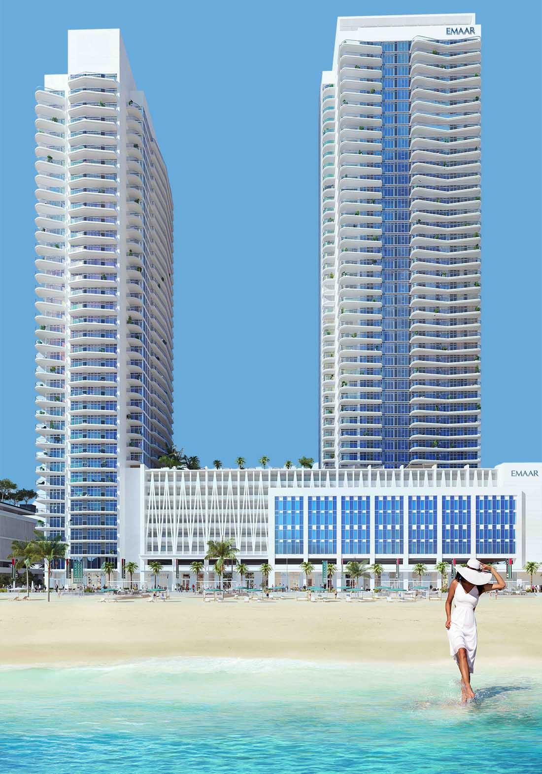 Emaar Beachfront Marina Vista – Apartments for Sale in Dubai