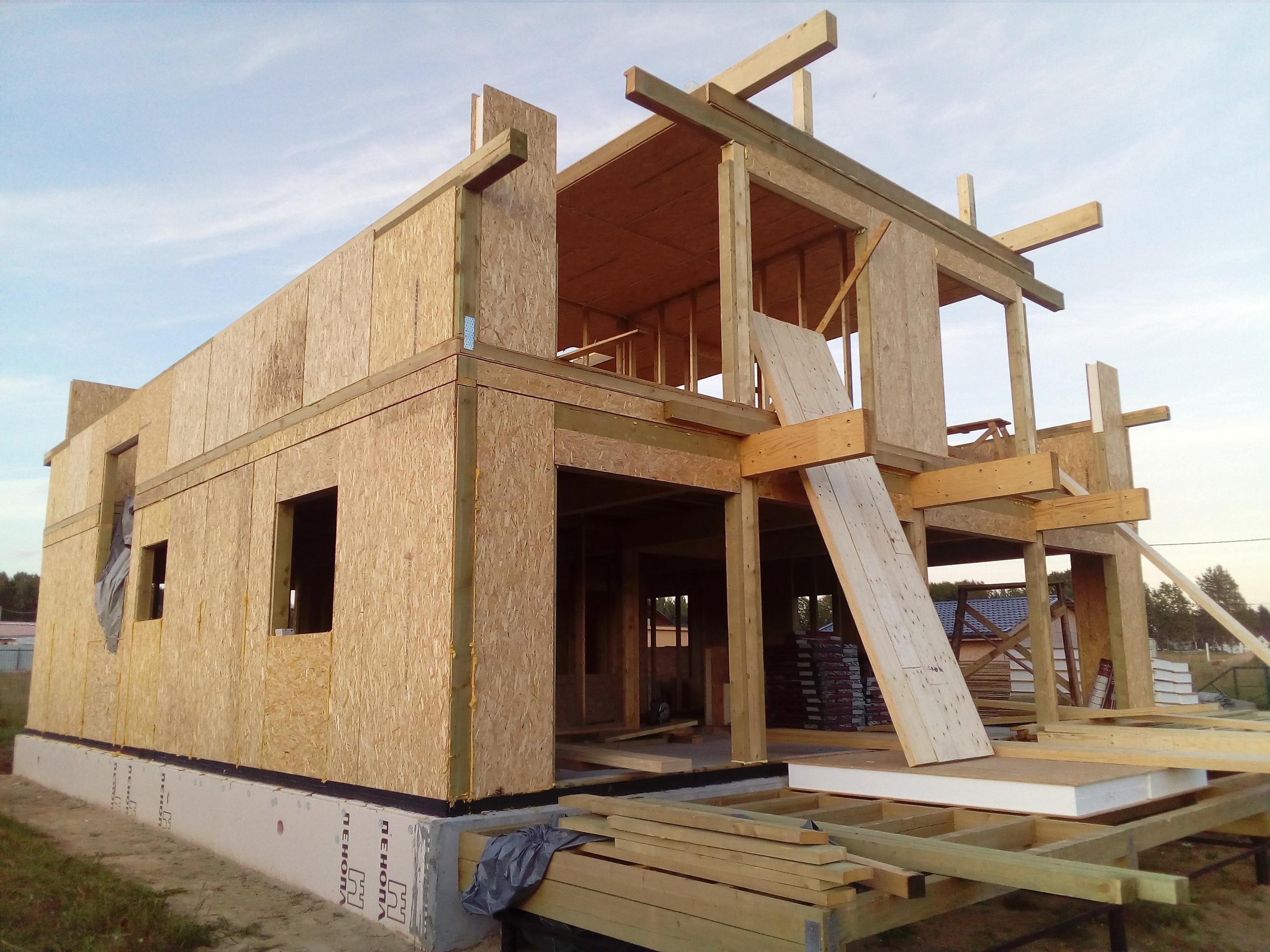 фото дома из сип панелей №3 терра выборгское