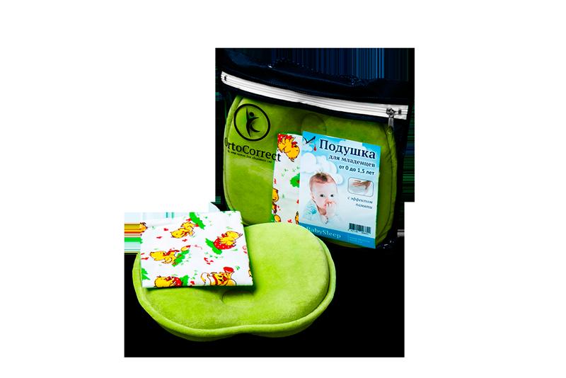 Анатомическая подушка для детей BabySleep